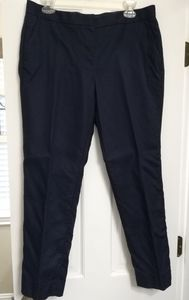 J.Crew Cotton Twill Suiting pants, navy